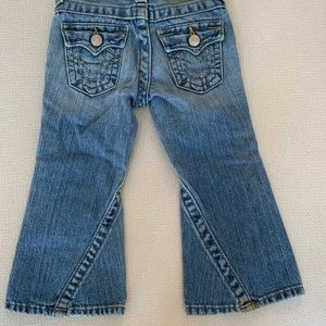 Girls True religion flare jeans size 3T